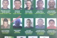 Cartel buscados Bajo Cauca