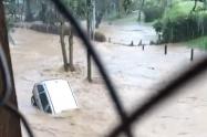 Desbordamiento Santa Elena
