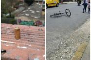 Con la detención del joven que se movilizaba en una bicicleta, la Policía evitó el homicidio de un hombre en el barrio Niquía.