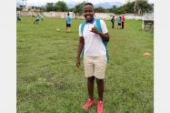Leidy Asprilla, futbolista que murió en el Valle del Cauca