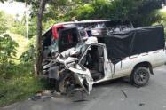 Accidente en Cáceres, Antioquia