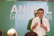 Aníbal Gaviria anunció su candidatura a la Gobernación de Antioquia.