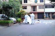 Encuentran cuerpo envuelto en estopas en la comuna cuatro de Medellín