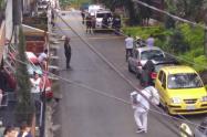 Extraña muerte de mecánico en el centro de Medellín