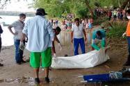 Uno de los cuerpos fue hallado en estado descomposición.