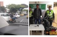 Capturado en Laureles, luego de asaltar a ocupantes de una camioneta.