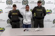 """Las Autoridades investigan si esta persona haría parte del desmantelado combo """"Ajizal""""."""