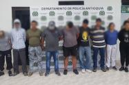 Captura de Presuntos Integrantes del Clan del Golfo