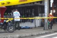 De un disparo con silenciador, fue asesinado un hombre en el centro de Medellín.