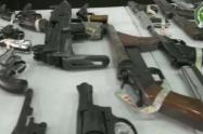 Cae red dedicada al tráfico ilegal de armas traídas desde Venezuela