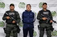 """""""Si tuviera un fusil me les enfrentó"""", dijo """"Diego Almuerzo"""", durante su captura en Medellín"""