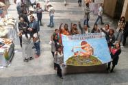 Víctimas de violencia sexual en Antioquia.