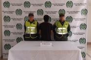 El hombre fue detenido gracias al seguimiento de las cámaras de seguridad del sector