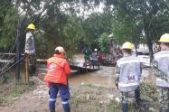 Inundaciones en Apartadó, Antioquia.