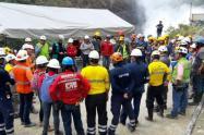 Evacuación en Hidroituango.