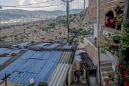La comuna 13  es una de las zonas de Medellín más goleadas por la violencia
