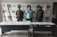 La droga estaba lista para ser comercializada en algunas plazas de vicio de este municipio del sur del  Valle de Aburrá.