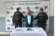 """Disfrazado de """"escobita"""" fue capturado alias Agapo, uno de los más buscados de Bello"""