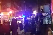Dos personas lesionadas dejó la explosión e incendio de un local en Robledo El Diamante