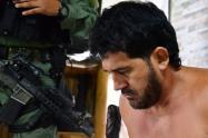"""Momento de la captura de  alias """"Malacate"""" uno de los hombres mas buscados en Bello"""