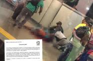 Jóven de 25 años murió en la estación Caribe del Metro de Medellín