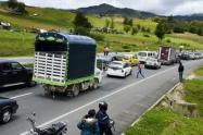 146 mil vehículos se movilizaron por las vías del departamento.