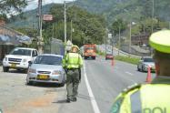 Dos muertos y cinco heridos en siniestros viales, saldo parcial del puente festivo en Antioquia