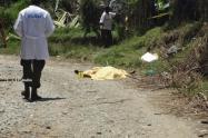 Al parecer, la víctima se había quedado con una cantidad de dinero producto de actividades ilegales, señalaron las autoridades.