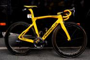 La bicicleta de Egan Bernal, campeón del Tour de Francia, edición especial de Pinarello