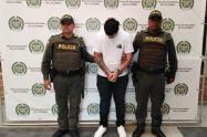 """En otro operativo realizado en el Poblado, también fue capturado  alias """"Carolo""""."""
