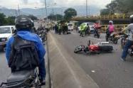 Un presunto ladrón murió a manos de la policía en Medellín