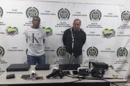 Dos personas fueron capturados en flagrancia cometiendo este delito.