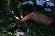Los tres muertos y la persona herida, pertenecerían a los grupos armados organizados al margen de la ley que delinquen en esa región del departamento.