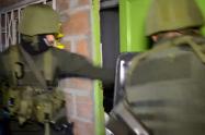 """Policía se metió a las casas de 9 presuntos integrantes del combo """"la  Terraza"""""""