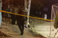 Un hombre muerto y una mujer herida, dejó un ataque sicarial en Bello