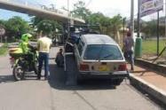 Investigan crimen de conductor de transporte informal