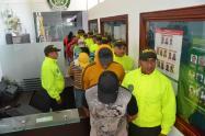 Capturan a once presuntos sicarios de la banda criminal de los Caparros en Antioquia