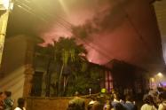 Casa de más de cien años se quemó en Santa Fe de Antioquia