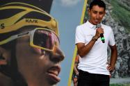 Egan Bernal, ciclista colombiano campeón del Tour de Francia
