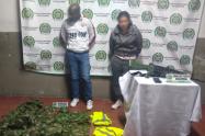 Capturan a dos personas cuando llevaban un fusil en Medellín