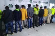 """Los capturados son presuntos integrantes del combo """"El Tablazo""""."""