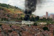 Incendio en la cárcel Bellavista