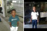 Marlon Cuesta, niño desaparecido en Medellín. Foto publicada con autorización de los familiares.