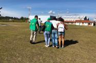 Jóvenes reclutados en el Bajo Cauca.
