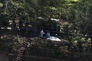 Hallan dos cadáveres en el río Medellín, a la altura de Bello