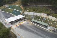 Túnel de Oriente en Antioquia.