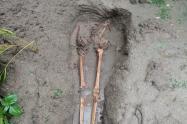 Hallan restos óseos en Juan de Acosta.