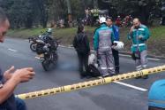 Motociclistas murió en la avenida regional de Medellín