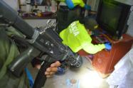 "Policía se metió el rancho a 25 integrantes del combo de ""el hueco"" de Amagá, Antioquia"
