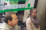 Captura exsubcontralor Rubén Darío Naranjo Henao y su esposa María Elena Escobar Quijano.
